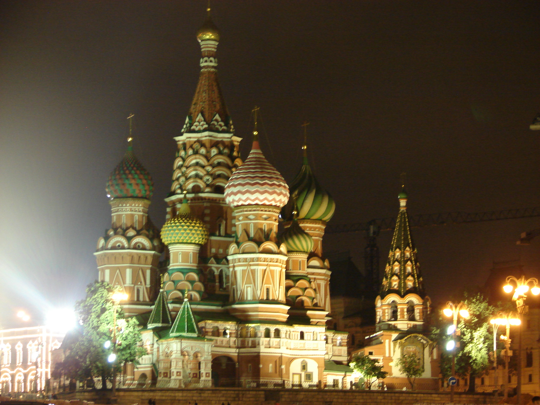 Plac Czerwony cerkiew Wasyla Błogosławionego