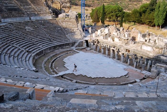 Antyczny teatr w Efezie