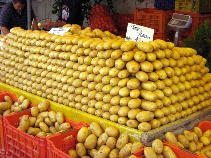 Nawet sprzedaż ziemniaków może być sztuką