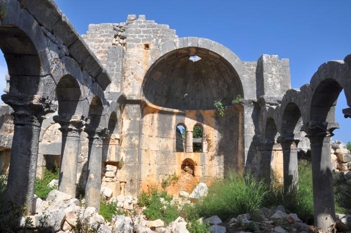 Zapomniany kościół bizantyjski w okolicach Silifke