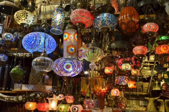 Lampki z Wielkiego Bazaru - tandeta, prawda?