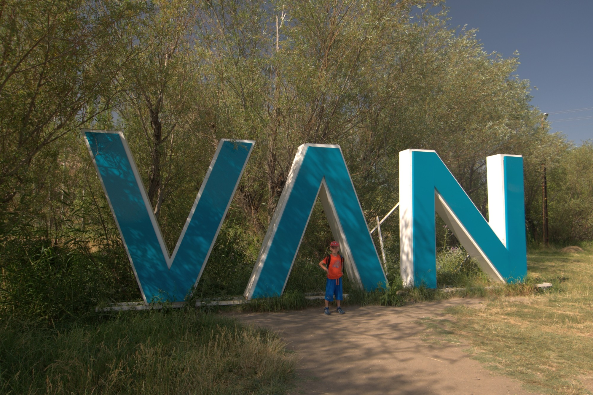 Staś w mieście Van