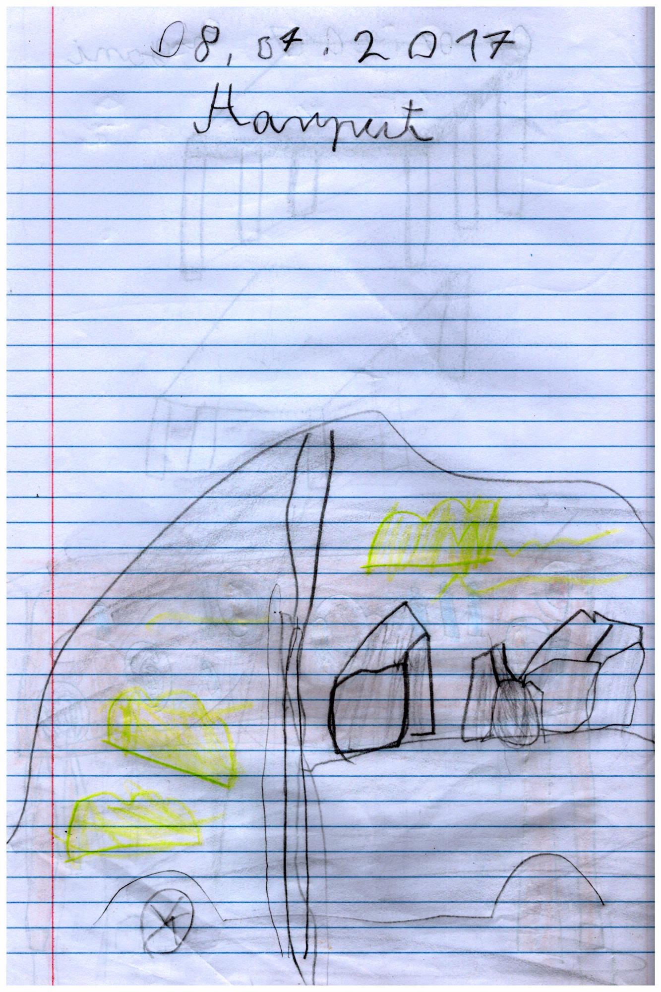 Zawalona jaskinia w oklicach Harput