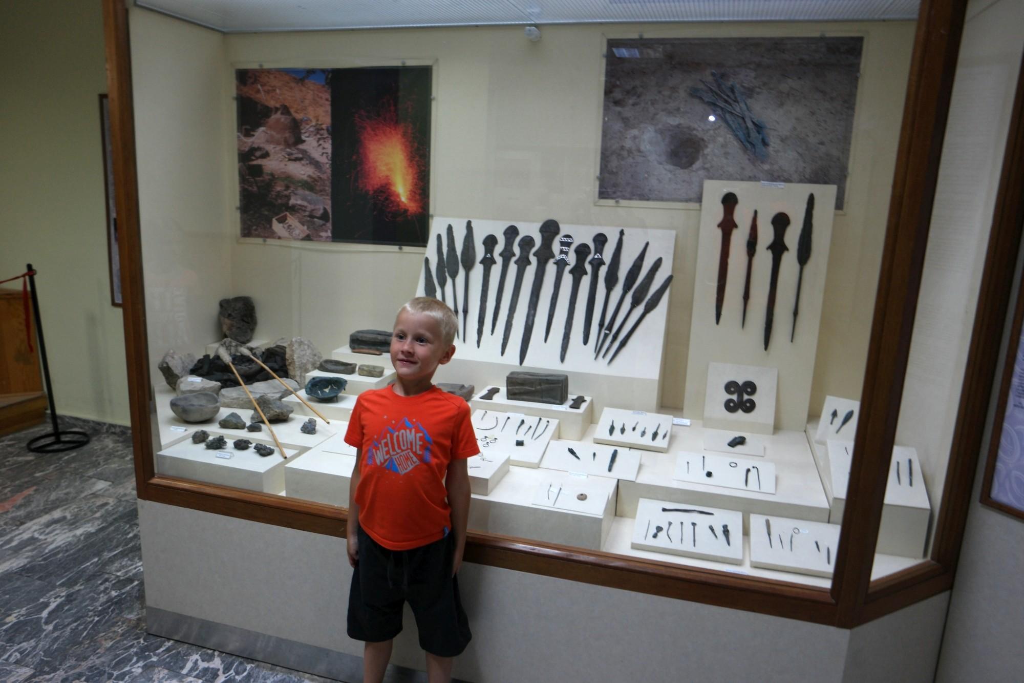 Staś i najstarsze miecze świata w muzeum w Malatyi