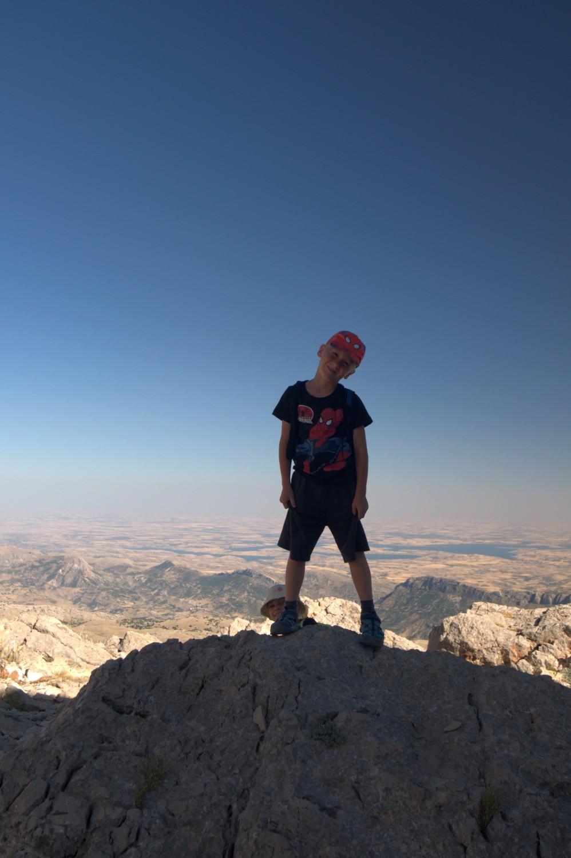 Staś na Górze Nemrut