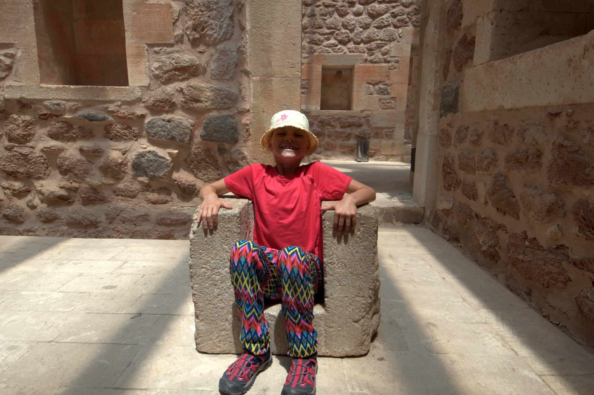 Tola w pałacu Ishaka Paszy