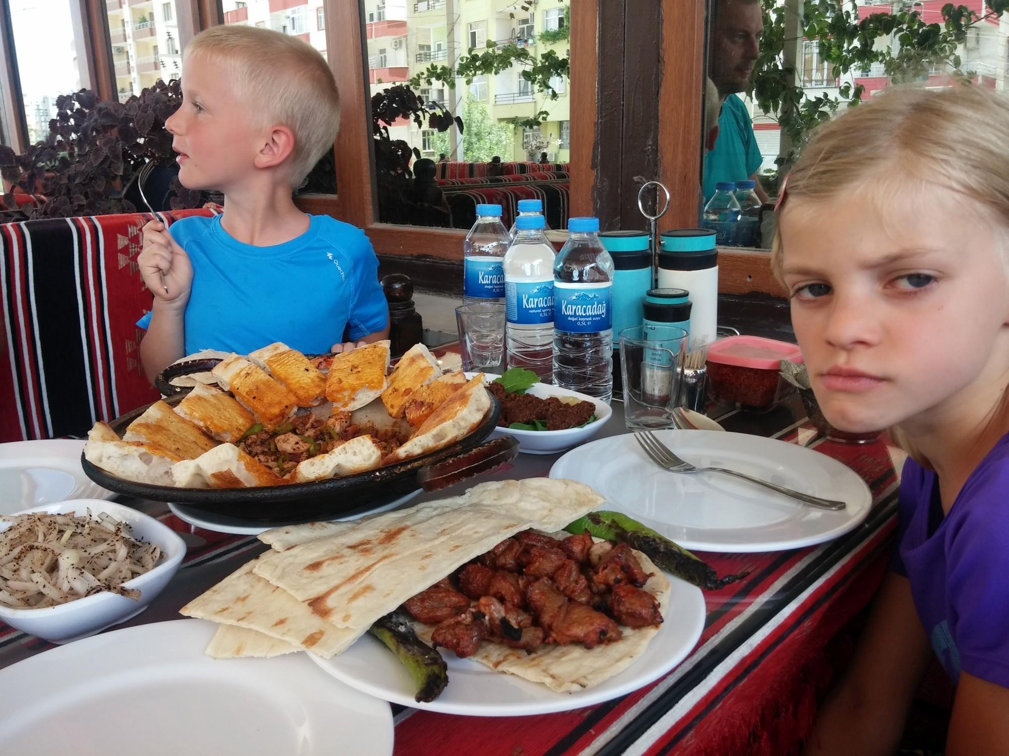 Posiłek w Silvan