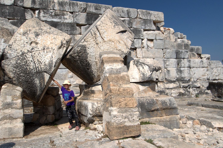 Tola w świątyni Apollina w Didymie