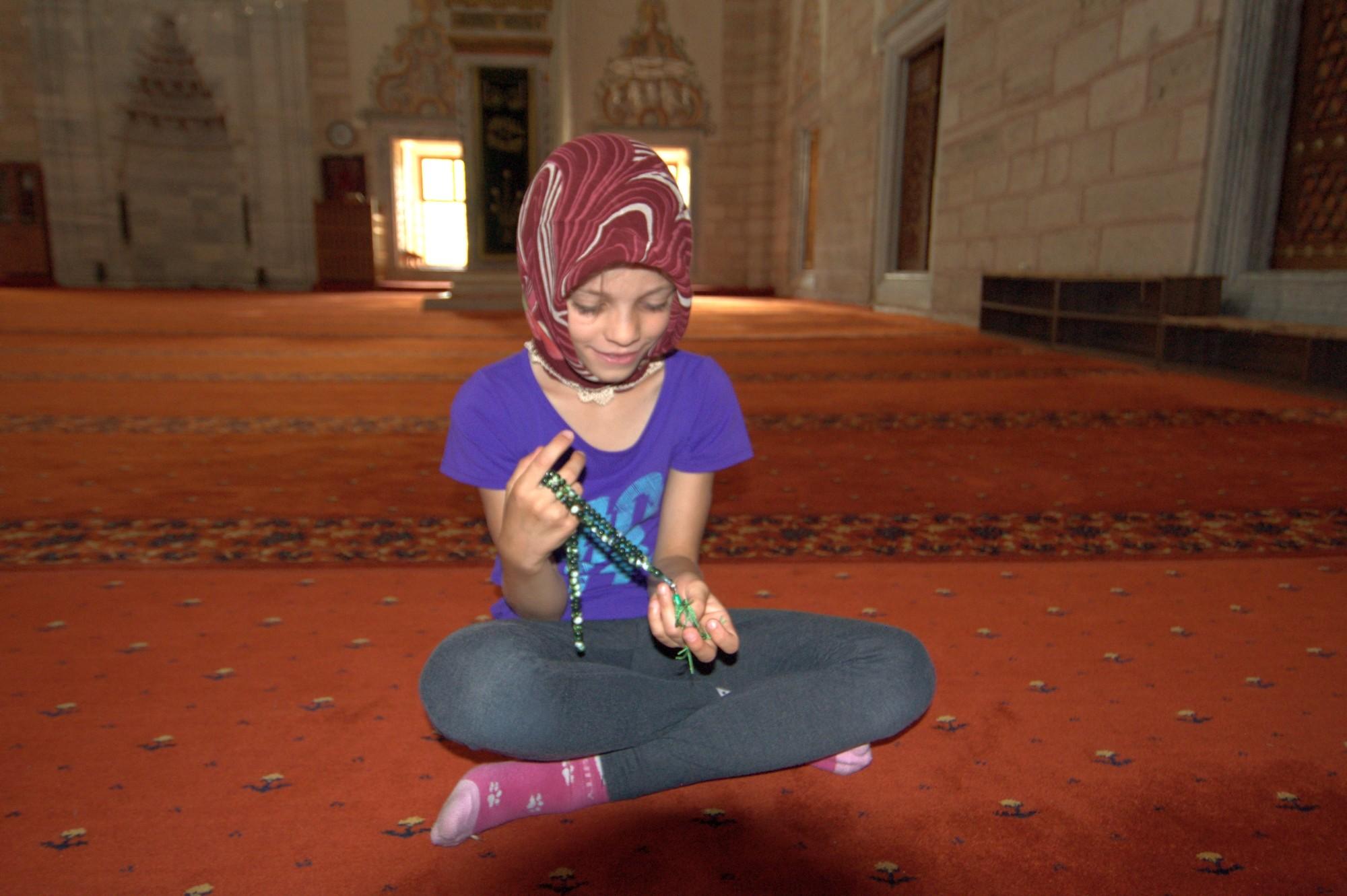 Tola w meczecie Bejazyda w Edirne