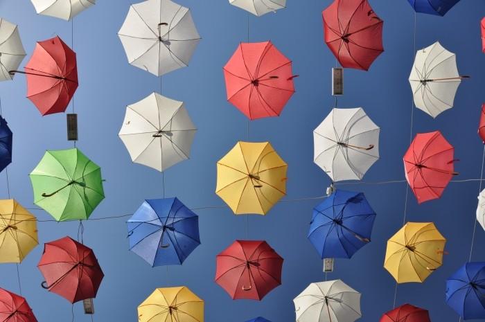 Czasami w Turcji świeci słońce, ale parasolki i tak się przydadzą!