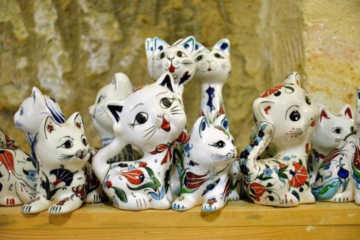 Porcelanowe kotki z Avanos