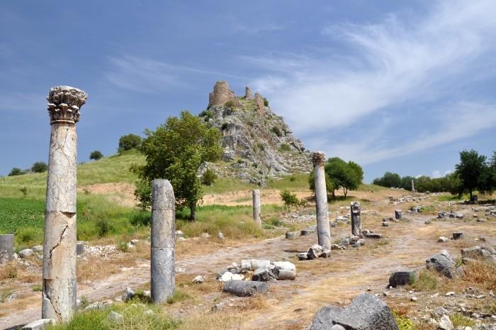 Ruiny antycznego miasta Kastabala