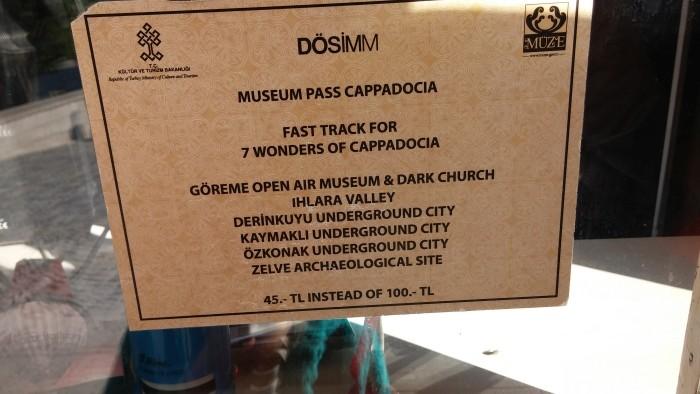 Museum Pass w Kapadocji