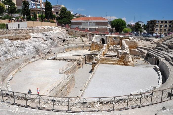 Amfiteatr w Tarragonie (Hiszpania)