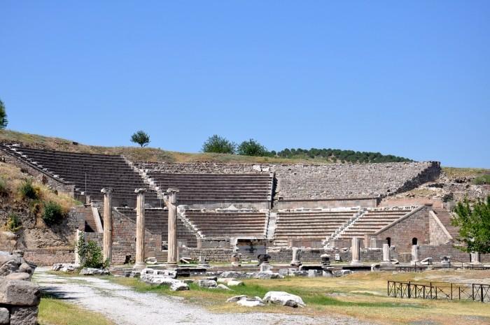 Rzymski teatr w Asklepiejonie Pergameńskim