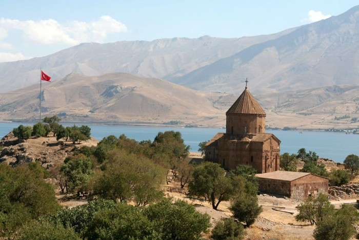 Kościół na wyspie Akdamar