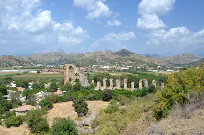Akwedukt w Aspendos