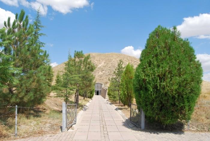 Tumulus króla Midasa w Gordionie