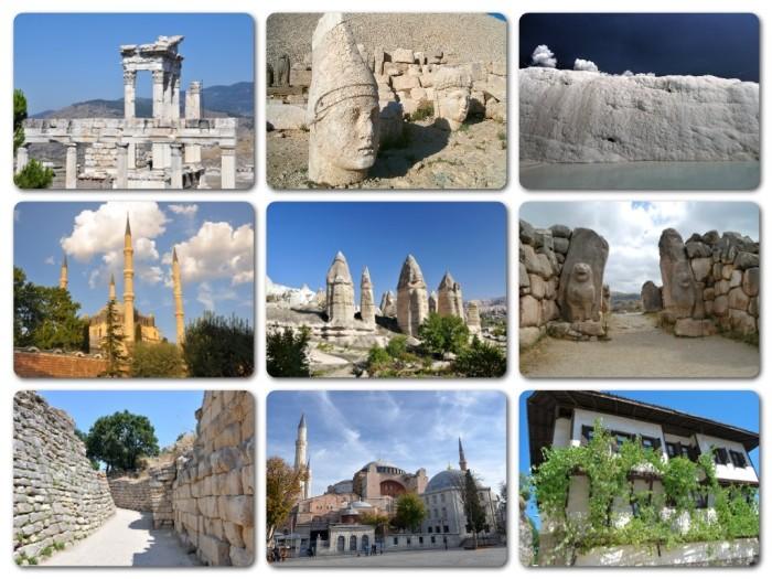 Tureckie obiekty na liście UNESCO