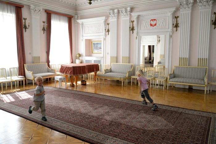 Zwiedzanie Ambasady - część nieoficjalna