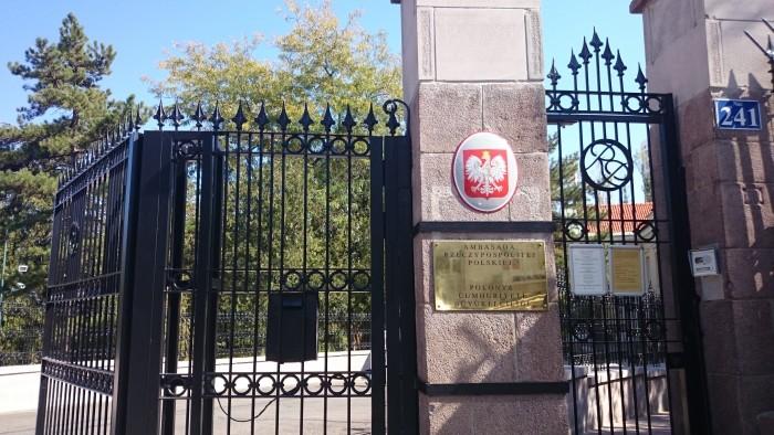 Brama Ambasady RP w Ankarze stoi przed nami otworem