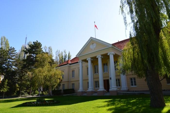 Budynek Ambasady RP w Ankarze