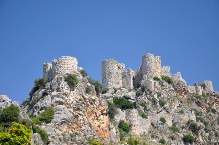 Yılankale - Zamek Węży w prowincji Mersin
