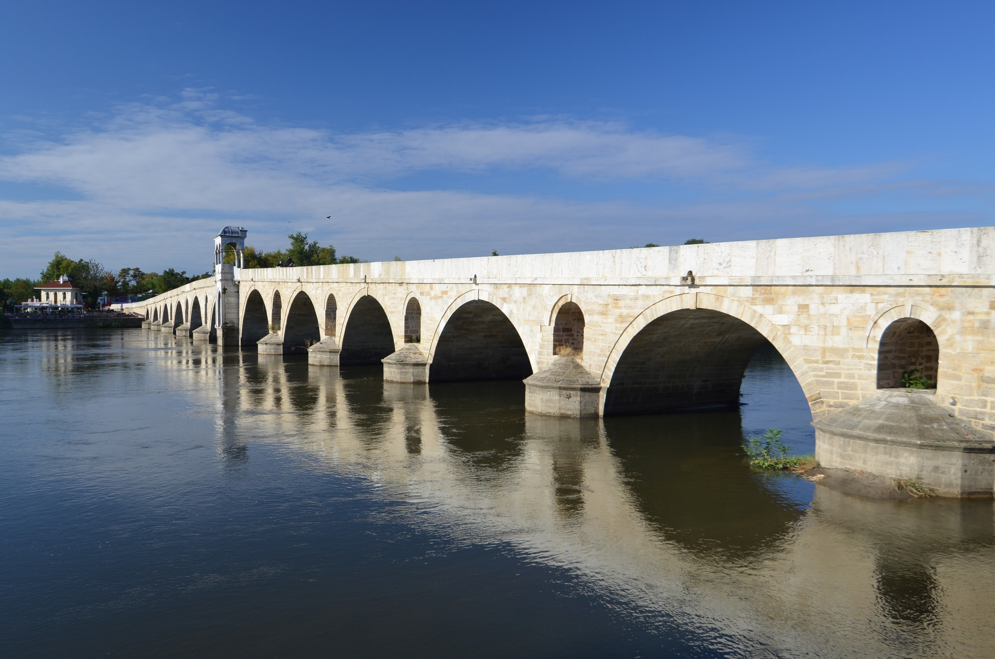 Nowy Most nad rzeką Maricą w Edirne