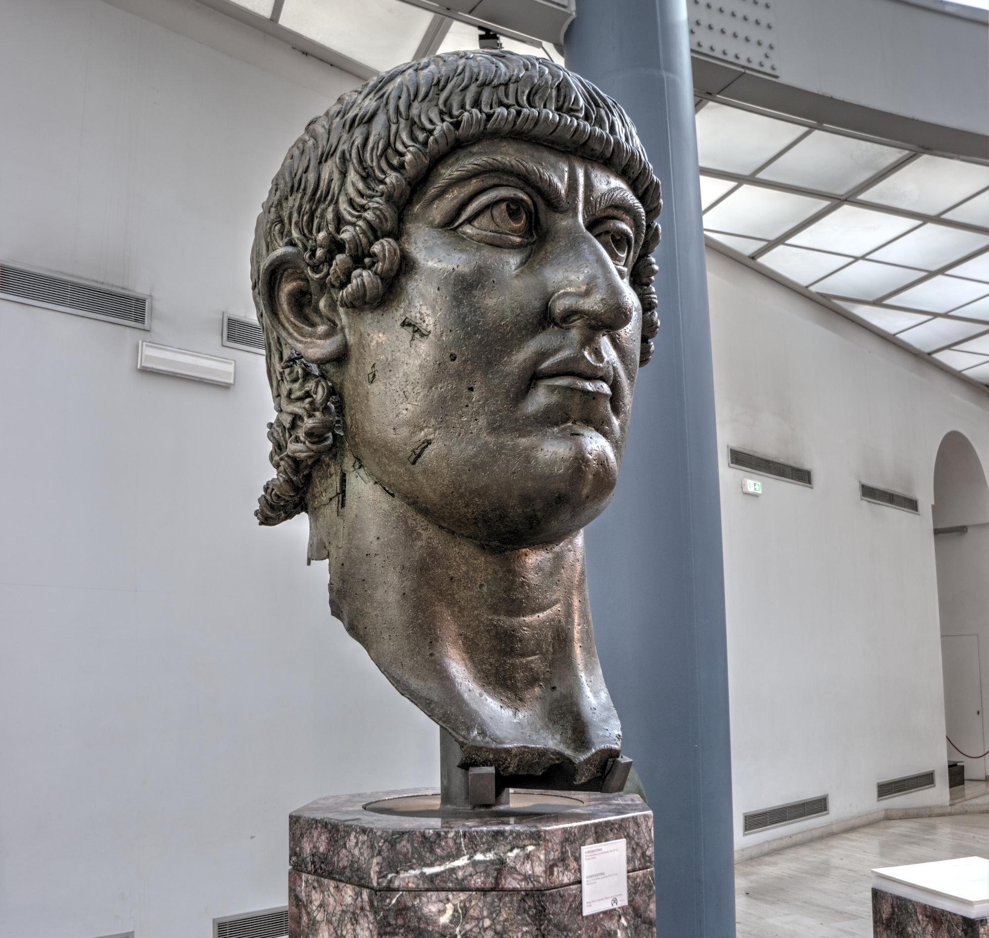 Cesarz Konstantyn, Muzeum Kapitolińskie w Rzymie