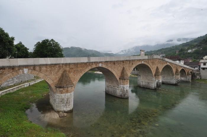 Konjic - zrekonstruowany most