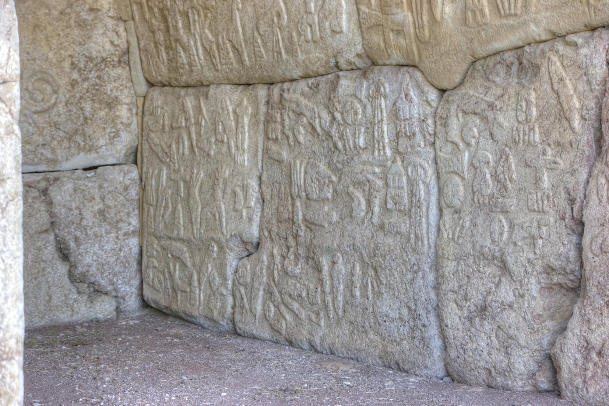 Komnata  Hieroglifów w Hattuszy