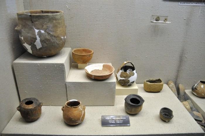 Znaleziska z Bademağacı w Muzeum Archeologicznym w Antalyi