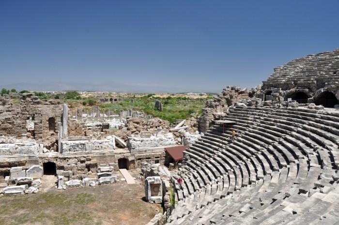 Teatr rzymski w Side