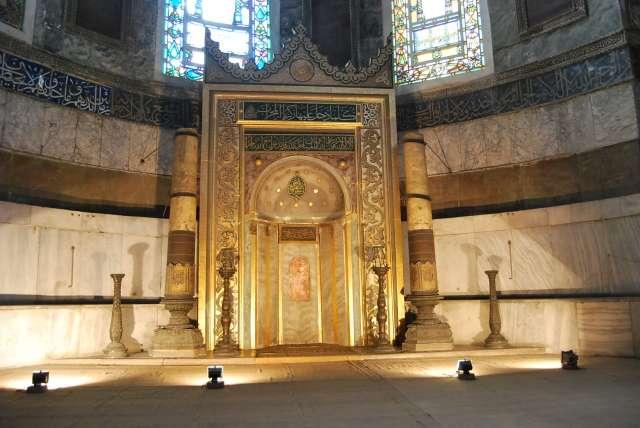 Mihrab z XIX wieku