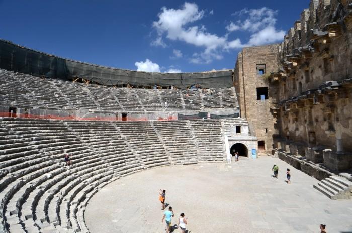Rzymski teatr w Aspendos