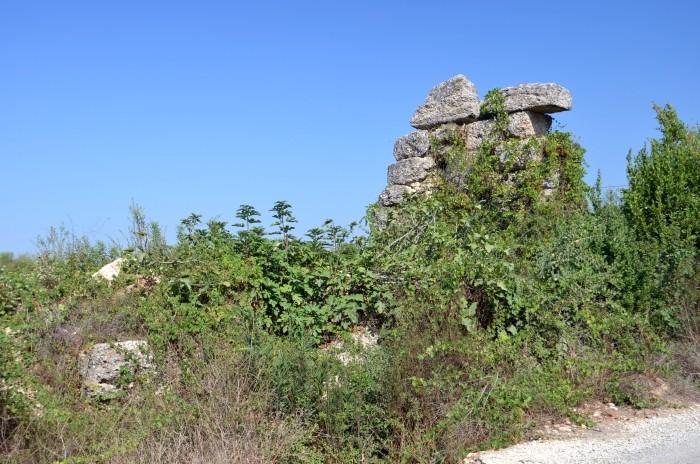 Skromne pozostałości Erymny