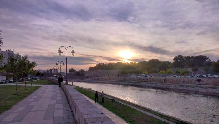 W Niszu nad rzeką Niszawą