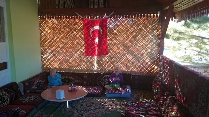 Pensjonat w Ihlarze - miejsce posiłku