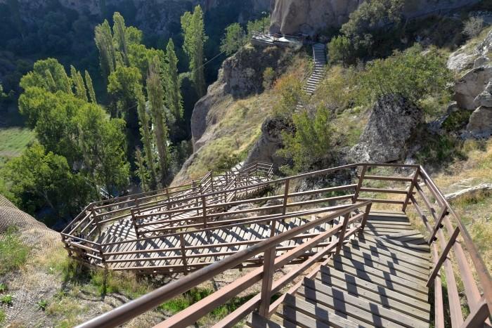 Zejście do kanionu Ihlara
