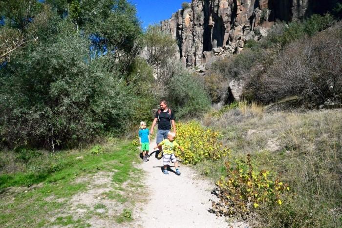 Trekking w kanionie Ihlara
