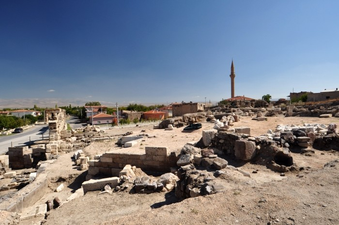 Ruiny antycznego miasta Tyana