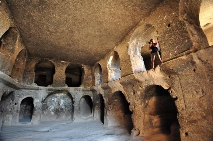 Wnętrze katedry w Selime