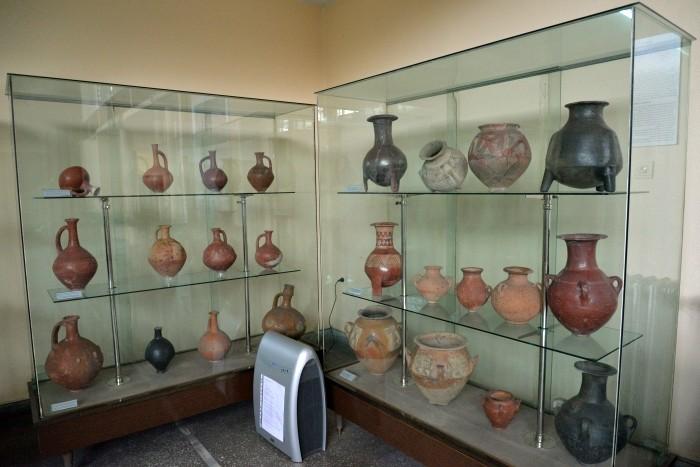 Ekspozycja Muzeum Archeologicznego w Kayseri