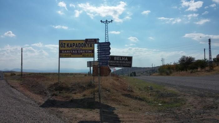 """Kierunkowskazy do """"świetnie skrywanego sekretu Kapadocji"""""""