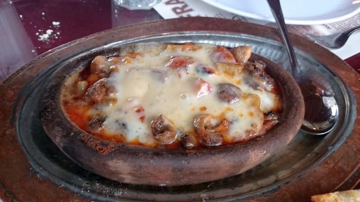 Kebab kapadocki z restauracji Zelve