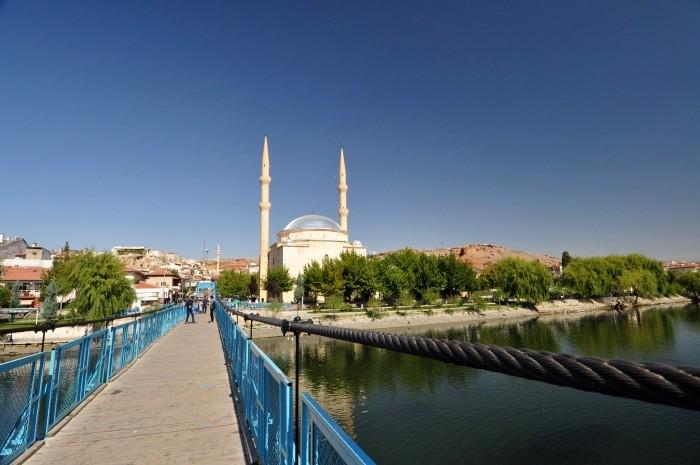 Most nad Kızılırmak w Avanos