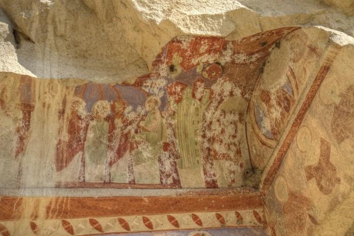 Kościół Jana Chrzciciela w Çavuşin - freski