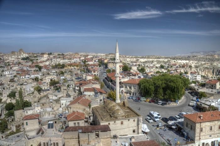 Widok z twierdzy w Ortahisar