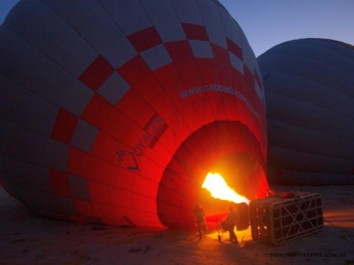 Balonem nad Kapadocją