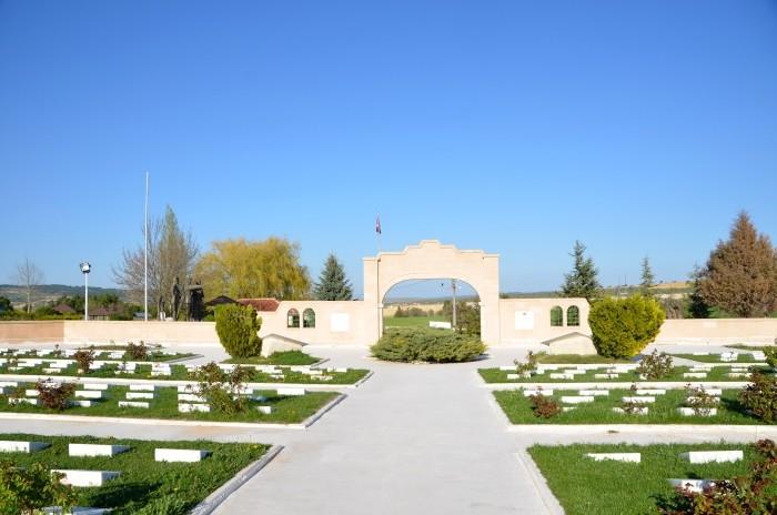 Cmentarz wojskowy w Dumlupınar
